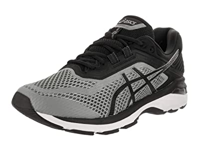 promo code 886f5 4d9d1 ASICS GT-2000 6 Men s Running Shoe, Stone Grey Black White,