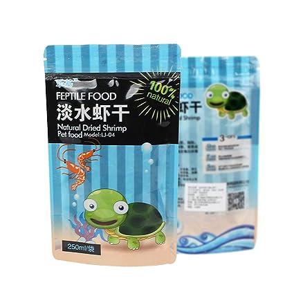 Yxinghai 250 ml/Bolsa Camarones Alimento seco Tortuga de ...