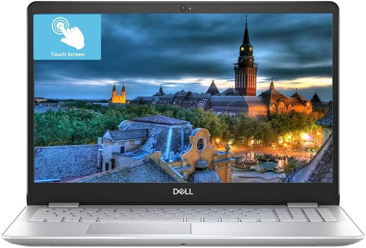 Dell Inspiron 15 5000, Flagship 15.6 FHD Touchscreen Laptop, Intel 4-Core i5-8265U, 12G RAM, 16G Optane PCIe SSD, 1TB HDD, BT4.1 Backlit KB Fingerprint MaxxAudio Win 10/Accessories Bundle (Renewed)