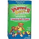 Yummi Bears Multi-Vitamin & Mineral, Vegetarian, 90-Count Sour Gummy Bears