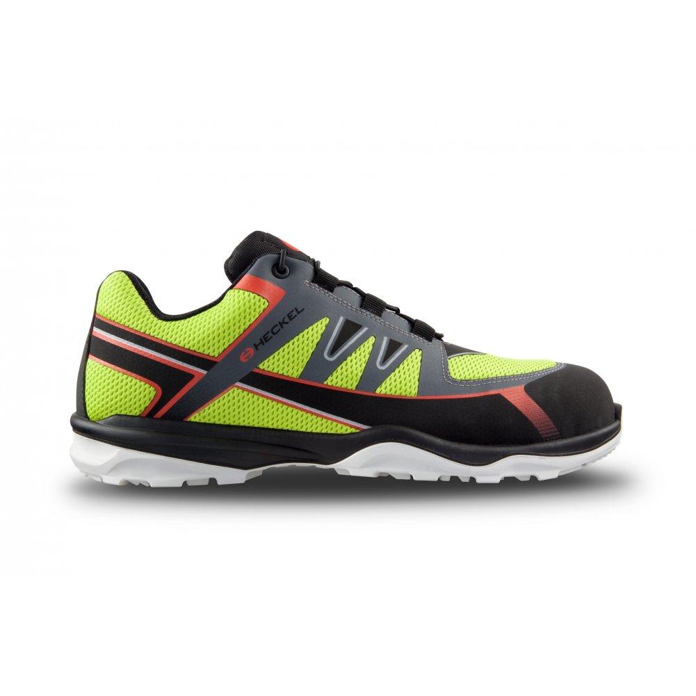 Heckel - Calzado de protección para hombre, color Negro, talla 39: Amazon.es: Zapatos y complementos