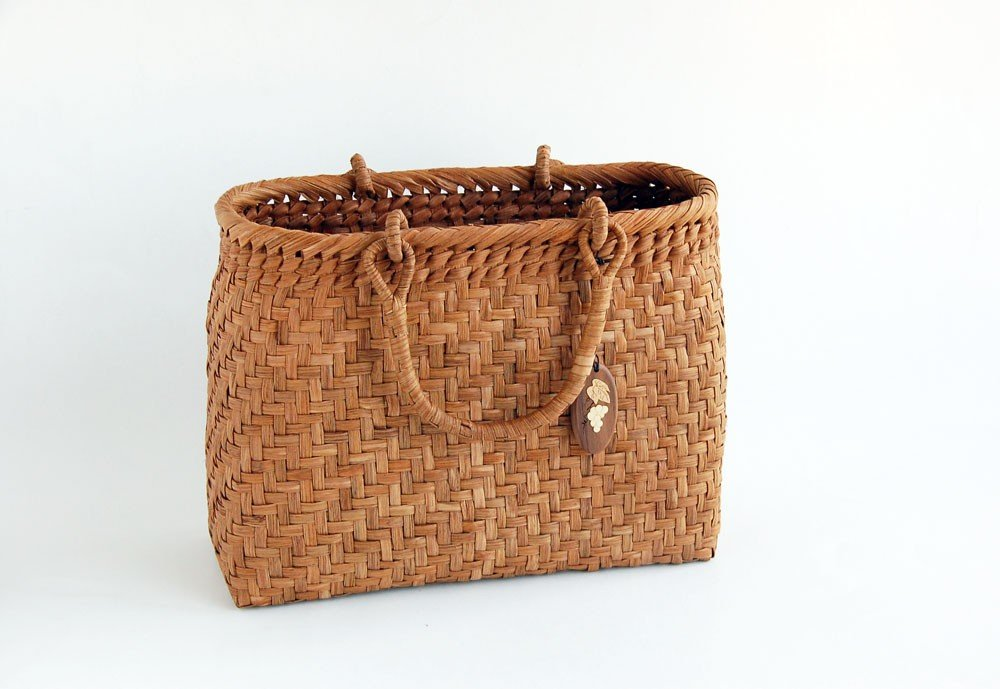 Yamako Mountain Grape Basket Handbag with Inner Cloth 88046 by Yamako (Image #3)