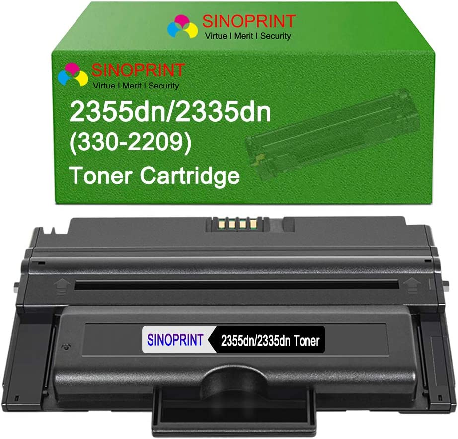 6 Pack 2335 Toner Cartridge fits Dell 2335dn 2355dn Printer FREE SHIPPING!
