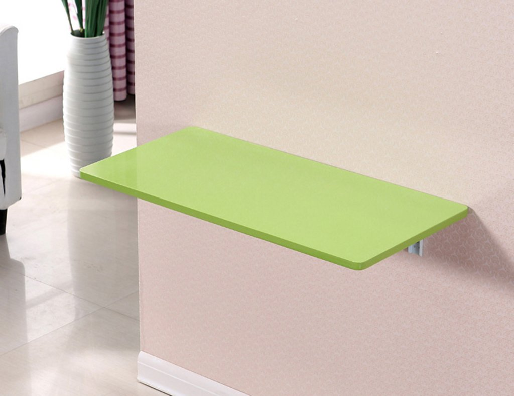 ダイニングテーブル壁掛けラップトップデスク壁掛けテーブルラーニングテーブルペイント折り畳み式コンピュータデスクカラーサイズオプション ( 色 : 緑 , サイズ さいず : 100*40cm ) B07B75XBX1 100*40cm 緑 緑 100*40cm