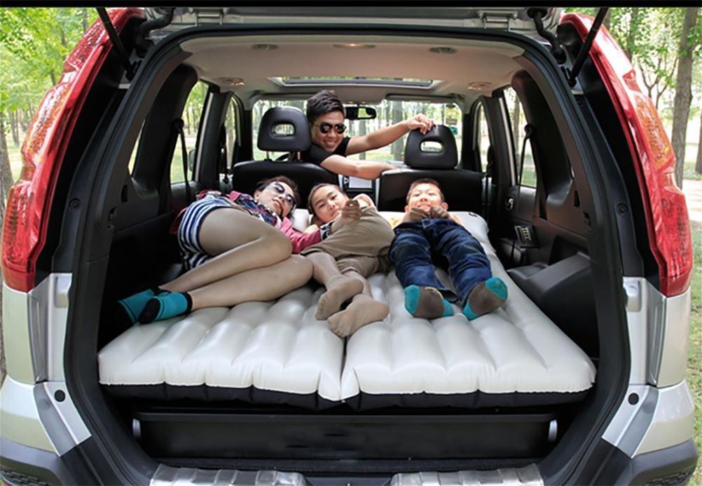 D&F-4/6 geteilte Luftmatratze SUV GM Auto Luftbett aufblasbare Kissen Sofa Camping-Ausflug