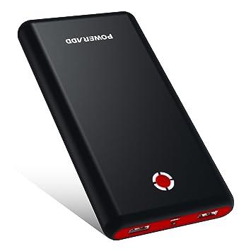 [Versión Mejorada] POWERADD Pilot X7 20000mAh Power Bank Cargador Móvil Portátil Batería Externa con 2 Salidas USB 3.1A para iPhone iPad Samsung ...