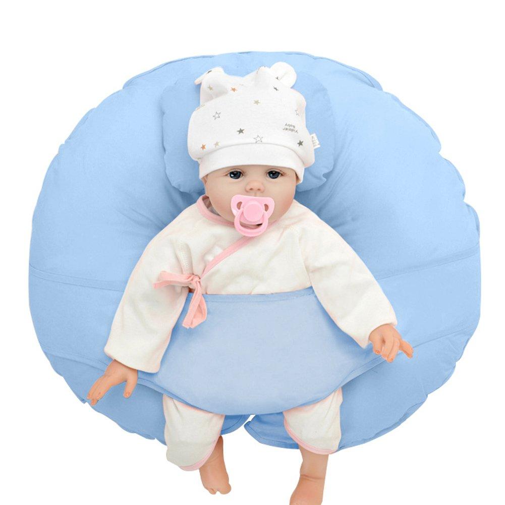 ANG Qi único 4 en 1 - cojín de lactancia con libre de almohada y ...