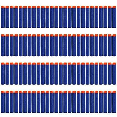 Yosoo 7.2cm Refill Bullet Darts for N-Strike Elite Series Blasters Kid Toy Gun (200pcs): Toys & Games