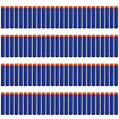 Yosoo 200pcs 7.2cm Refill Bullet Darts for Nerf N-strike Elite Series Blasters Kid Toy Gun - Rampage Air