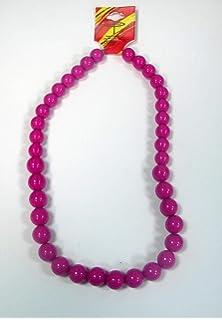 Collar de flamenca pequeño de 25 cm en color fucsia