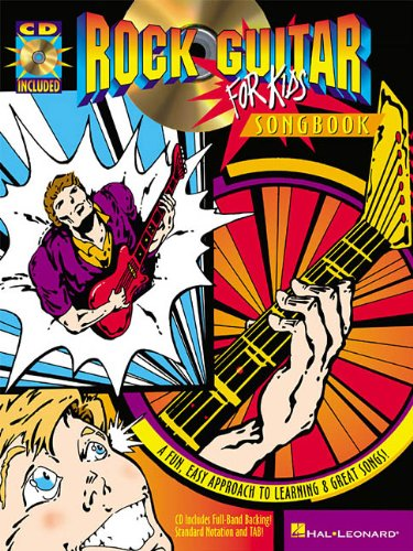Rock Guitar for Kids Songbook (Guitar Educational)