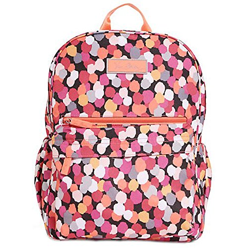 Vera Bradley Polyester Lighten Up Just Right Backpack Pixie Confetti - 14838-208