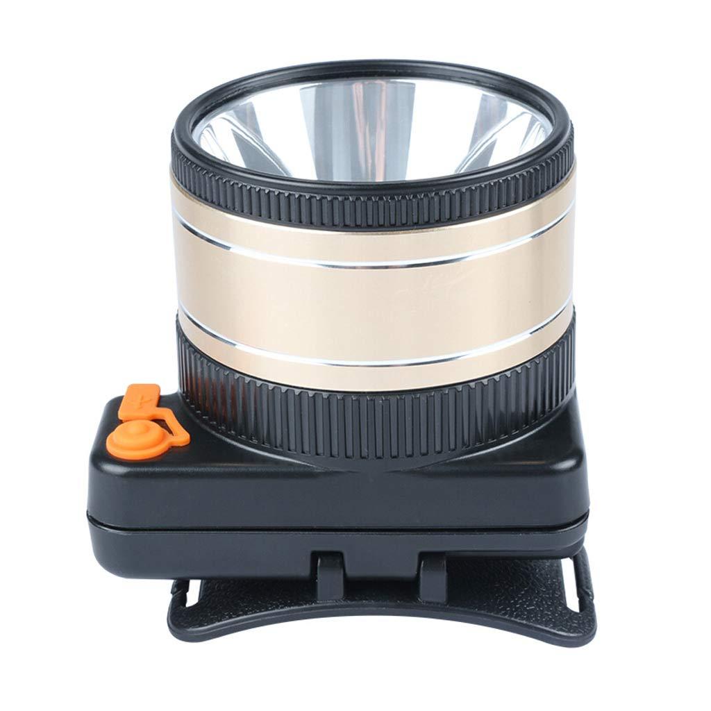 MLMHLMR LED-Scheinwerfer, Kann 9000w Hochleistungsblendungtauchen Sein, Die DREI Lange Lithiumscheinwerferbatteriebergmann Im Freien Führt Taschenlampe (Farbe : Weißes Licht, größe : 10CM)