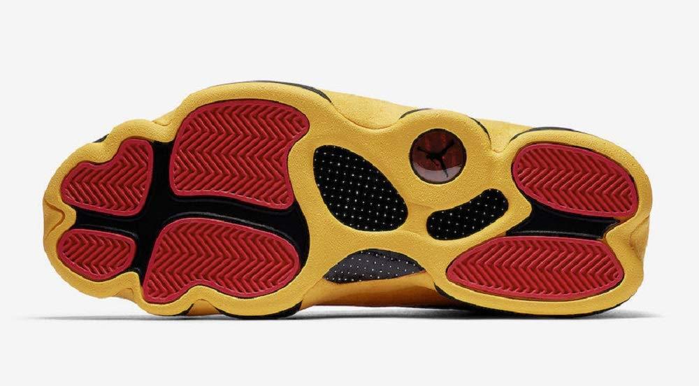 d914fde0be5 Amazon.com  Air Jordan 13 Retro Men s Basketball Shoes Black University Red  414571 035 (10)  Sports   Outdoors