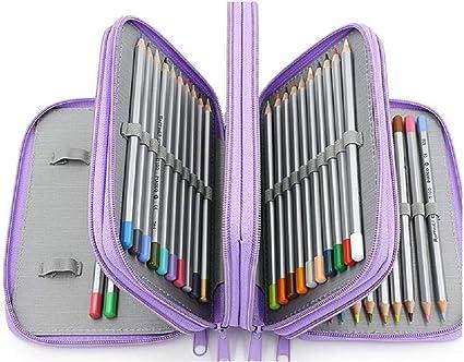Estuche para lápices de 4 pisos colorido Kawaii estuche escolar estuche de lápices trousse Scolaire estilo
