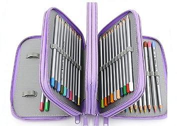 Estuche para lápices de 4 pisos colorido Kawaii estuche ...