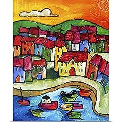Sara Catena Poster Print entitled Positano, Amalfi Coast - Italy
