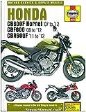 H5572 Honda CB600F Hornet, CBF600, CBR600F 2007 - 2012 Haynes Repair Manual