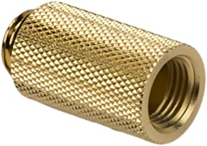 """Barrow G1/4"""" Male to Female Extender Fitting, 30mm, Gold"""