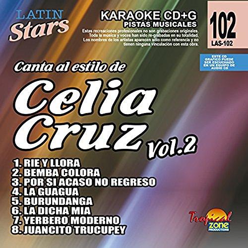 Latin Stars - Celia Cruz Vol. 2 Karaoke CDG