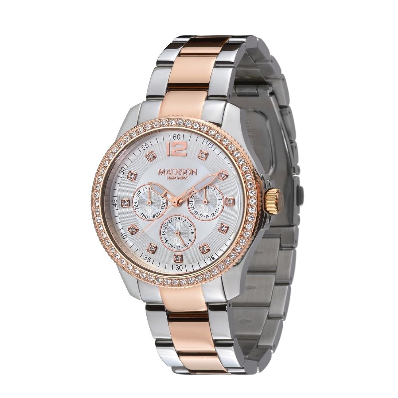 Madison New York Glamor Damen Armbanduhr Jolie L4792C3