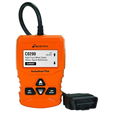 Actron CP9660 PocketScan Plus ABS/OBD II/CAN Scan Tool for 1996 and Newer Vehicles: Automotive