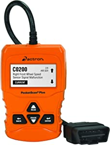 Actron CP9660 PocketScan Plus ABS/OBD II/CAN Scan Tool for 1996 and Newer Vehicles