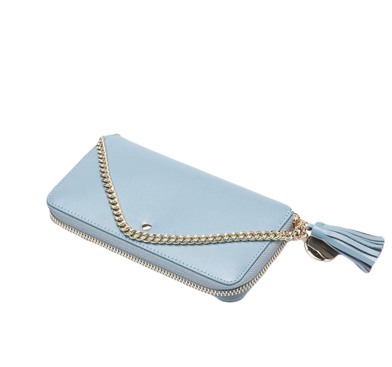 bluee Long Wallet Wallet Wallet Wallet Wallet Card Wallet Wallet Bag,PurpleOneSize