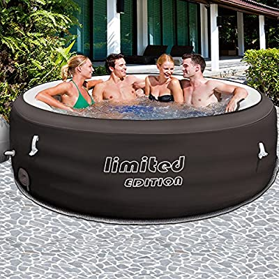 Bestway Piscina hinchable Lay-Z-Spa Limited Edition Ø196cm Bañera ...