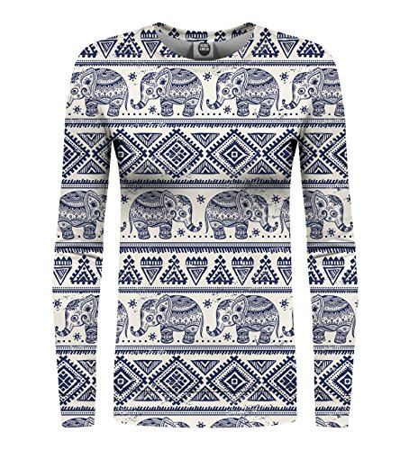 Miss Estampada Sudadera Mujer Mr Pattern Go Gugu Elephants amp; EXYqXawRxF