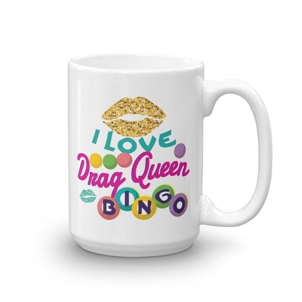 I Love Drag Queen Bingo Coffee Mug Funny Women Player Gift