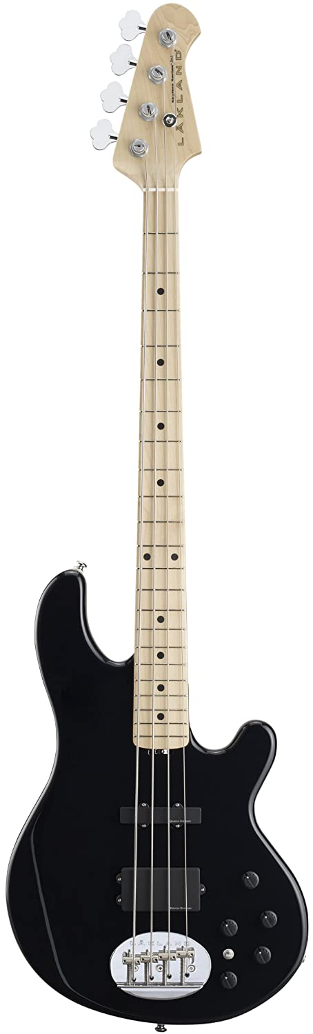 LAKLAND SK-4CL Black Maple FB エレキベース B0041A7BU2 Black / Maple Black / Maple