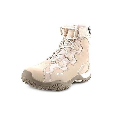 ef81d0f76b03 Salomon SnowTrip TS WP Snow Boots  Amazon.co.uk  Shoes   Bags