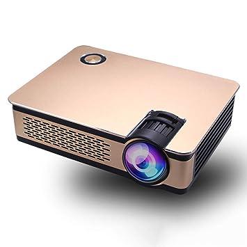 YZPTYY Proyector, proyector de Video 3600Lux, proyector HD ...