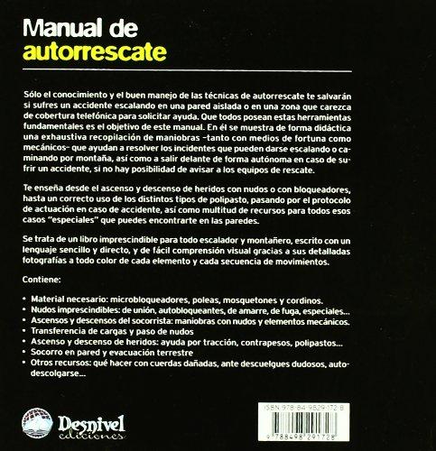 Manual de autorrescate (2ª ed.) (Manuales (desnivel)): Amazon ...