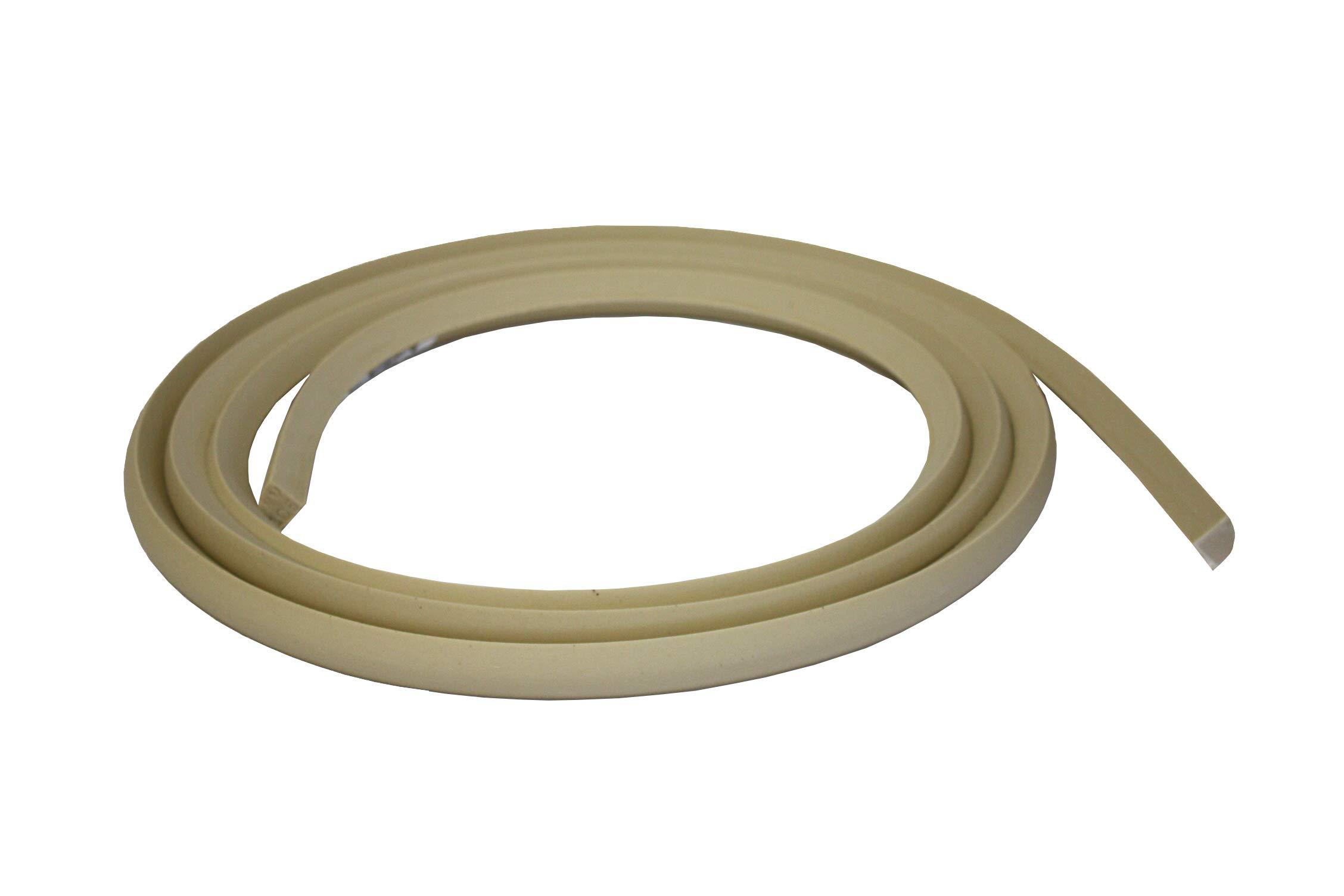 Flexible Moulding - Flexible Quarter Round Moulding - WM105 - 3/4'' X 3/4'' - 8' Straight - Flexible Trim
