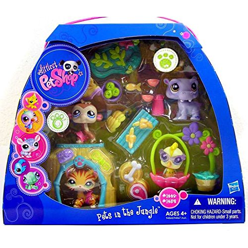 Littlest Pet Shop Pets in the Jungle Playset
