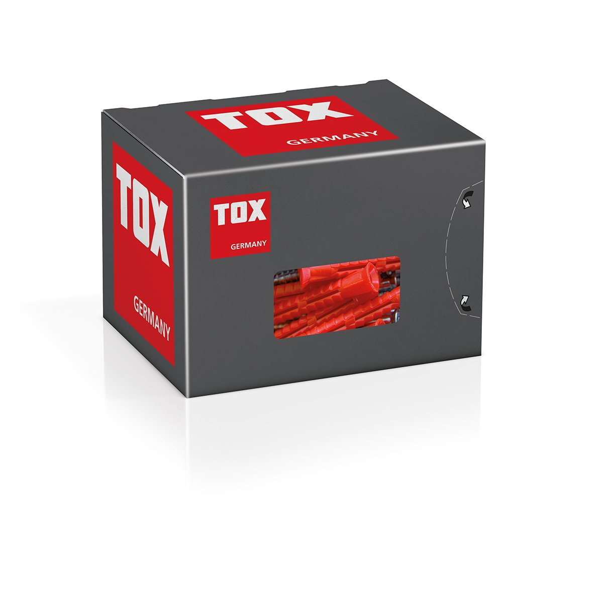TOX Allzweck Rahmend/übel Constructor 10 x 160 mm 25 St/ück 022102521