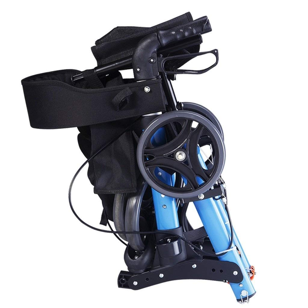 Amazon.com: Andador plegable con asiento de freno con ...