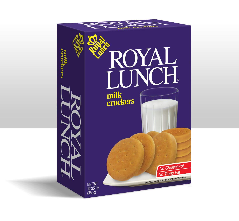 Royal Lunch Milk Crackers 18-pack - Full case - 12.35oz each box