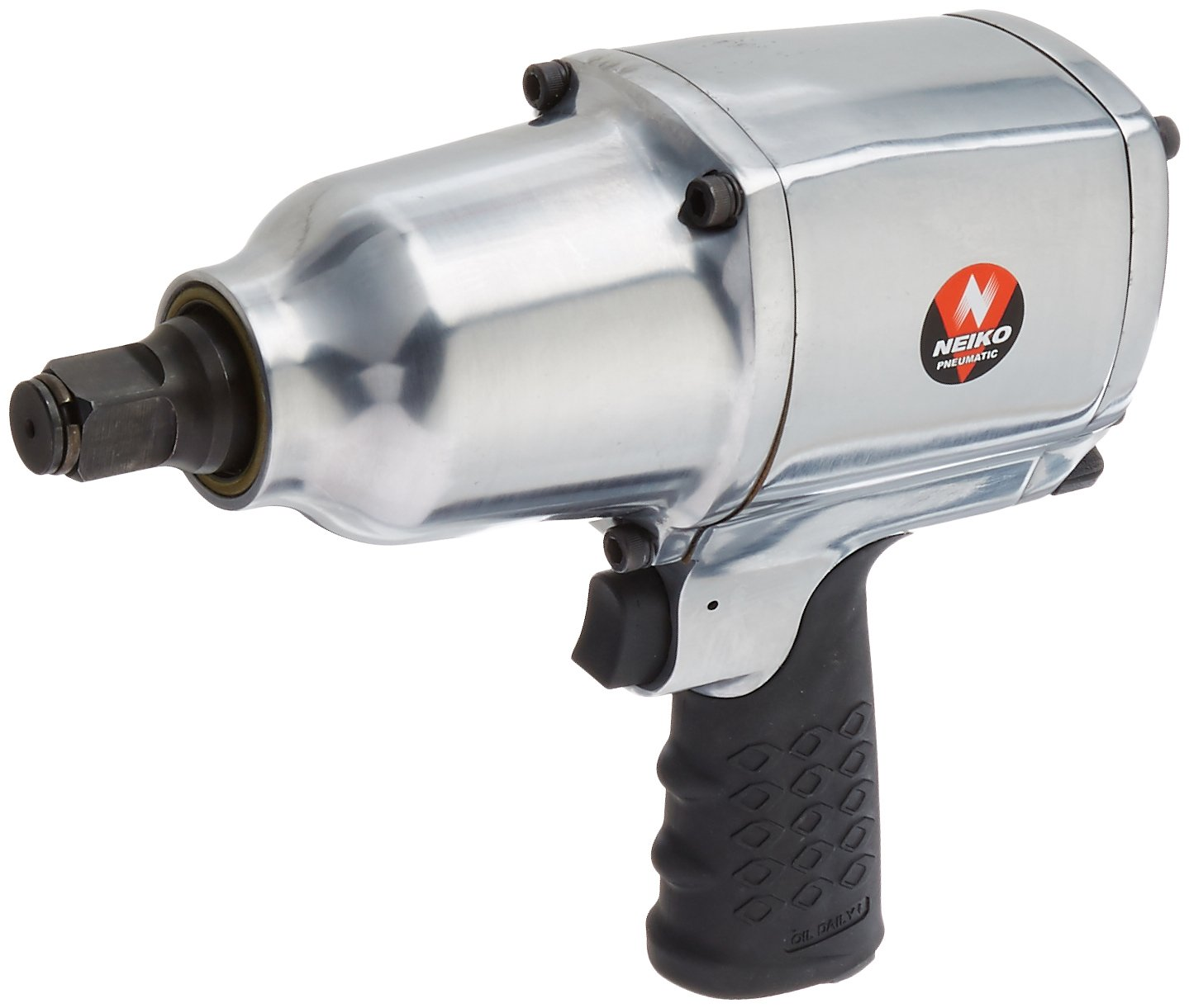 Neiko 31393A Pin Clutch Air Impact Wrench, Drive, 3 4 1000 Ft lb.
