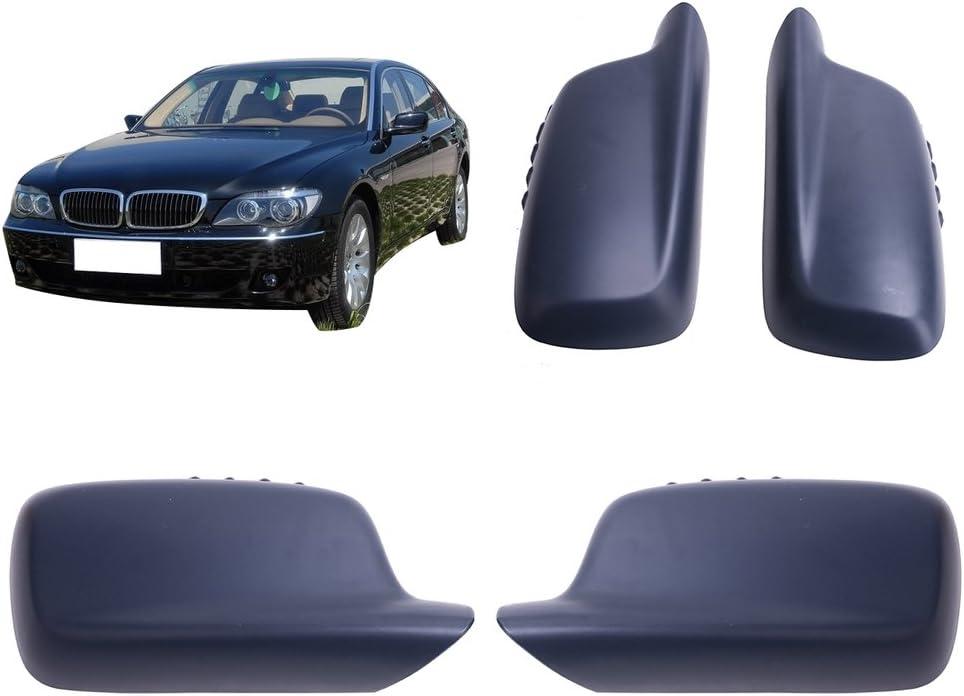 Bumper Grille For 2006-2008 BMW 750Li 750i Set of 2 Left /& Right Textured Black