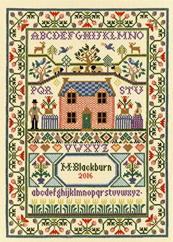 Bothy Threads Country Cottage Cross Stitch Kit