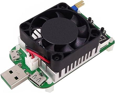 Kkmoon Usb Intelligenter Schutz Einstellbare Konstantstrom Elektronische Last Voltmeter Alterung Verstärker Widerstand Baumarkt