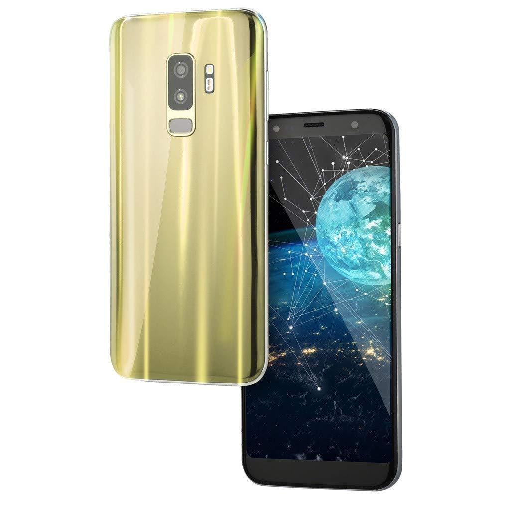 Finedayqi  6.0インチデュアルHDカメラスマートフォン Android 5.1 1G+8G GPS 3G 電話AU ブラック Fineday777 B07RC6SVCX ゴールド