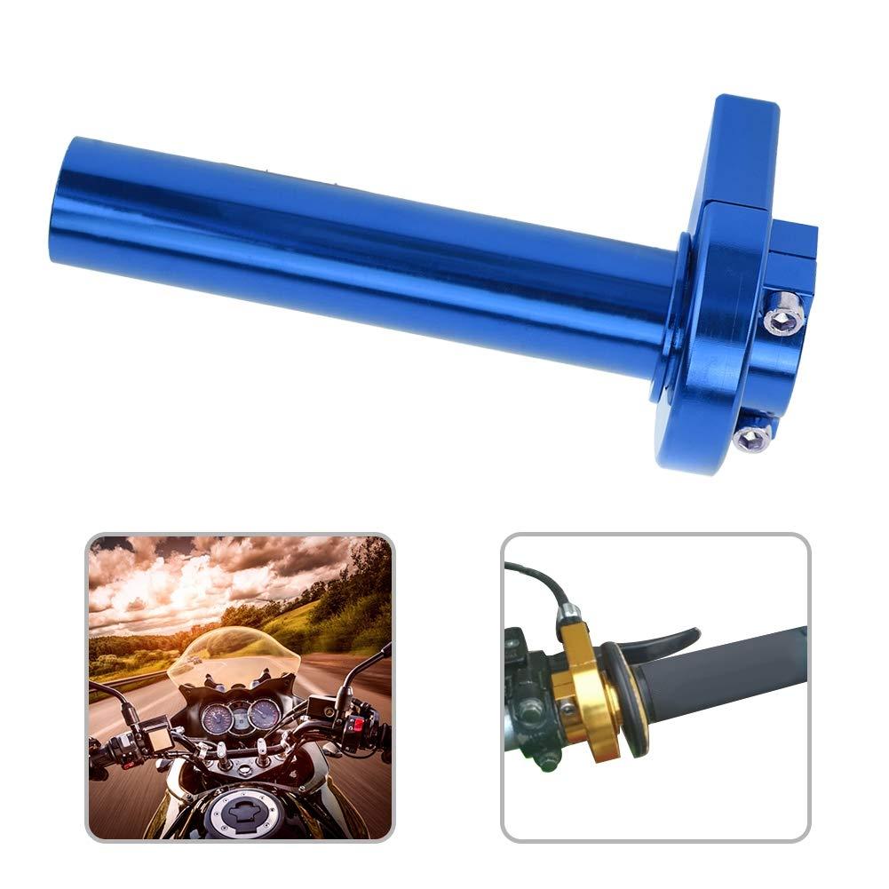 Blue 22mm in alluminio modificato per Moto Quick Twister Manubrio Acceleratore Turn Grip Parti di Moto Manubrio per Moto