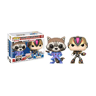 Funko 22784 Rocket Megaman Marvel VS Capcom S1 Pop Vinyl, Multi: Toys & Games