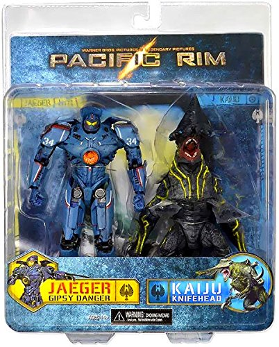 Pacific Rim Gipsy Danger and Knifehead 7-Inch Action for sale  Delivered anywhere in USA
