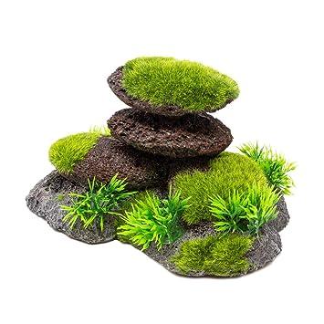 allpondsolutions - Conjunto de Piedras y Piedras para Acuario, diseño de pecera: Amazon.es: Productos para mascotas