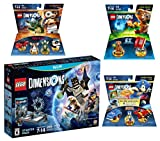 Lego Dimensions Starter Pack + Sonic The Hedgehog Level Pack + Gremlins Team Pack + E.T. Fun Pack for Nintendo Wii U Console